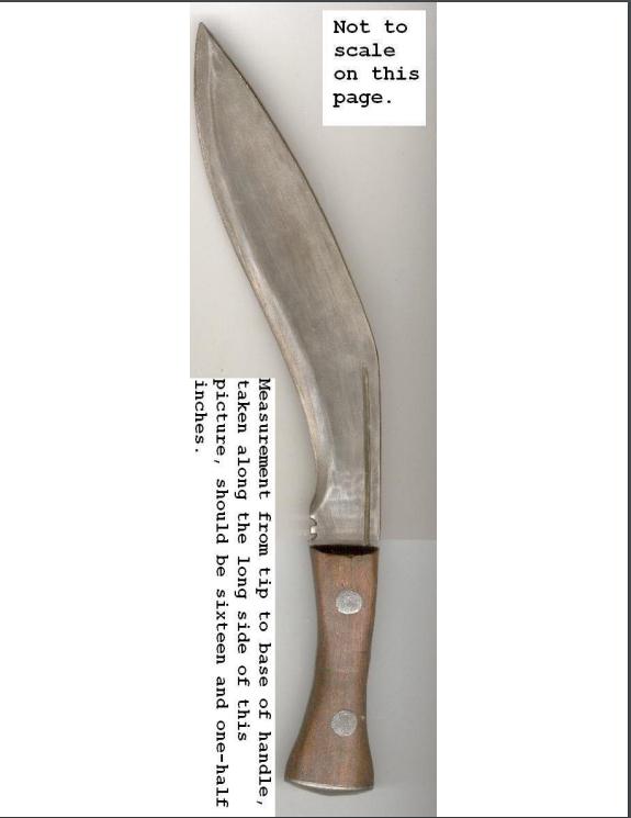 kukri complete knife